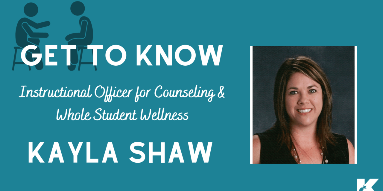 Meet Kayla Shaw: Klein ISD Instructional Officer for Counseling & Whole Student Wellness