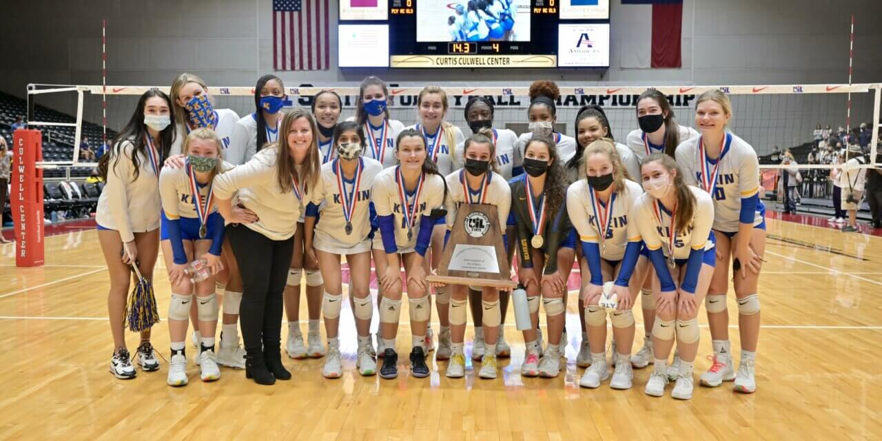 Klein High Takes Home Silver at Volleyball State Championship