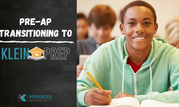 """Pre-AP"" Transitioning to ""Klein Prep"""