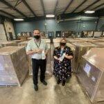 地方企业向Klein ISD捐赠300,000美元的洗手液
