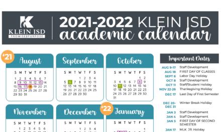 Klein Isd Calendar 2021-2022 Klein ISD Employee Update #3 – COVID 19   Klein ISD Newsroom