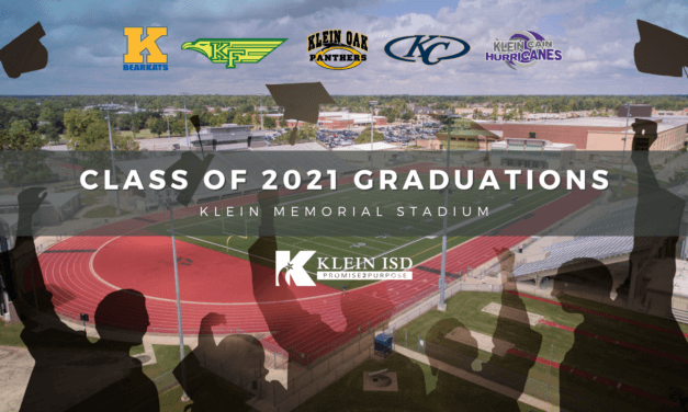 Klein ISD Class of 2021 Graduation Venue and Dates