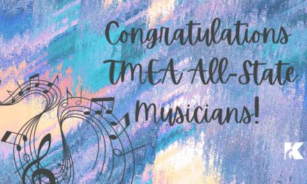 18 músicos de Klein ISD seleccionados para los grupos musicales estatales de TMEA