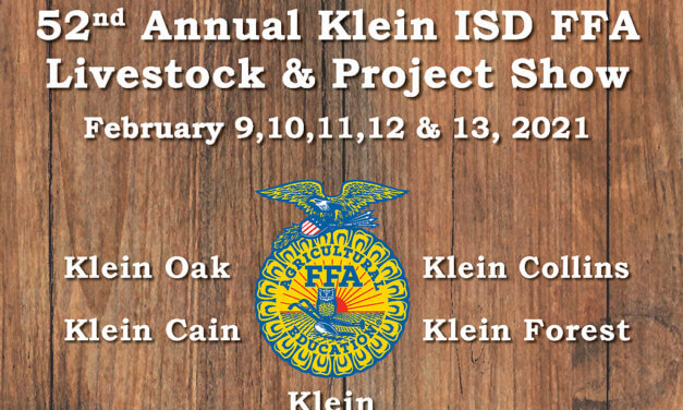 Klein ISD FFA Makes a Difference Inside and Out the Classroom
