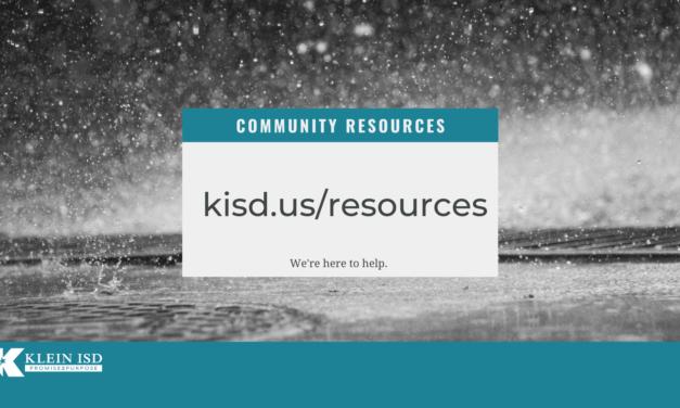 Recursos comunitarios de Klein ISD