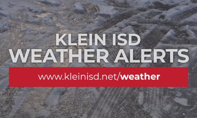 Update 5: Klein ISD to Remain Closed Friday, February 19