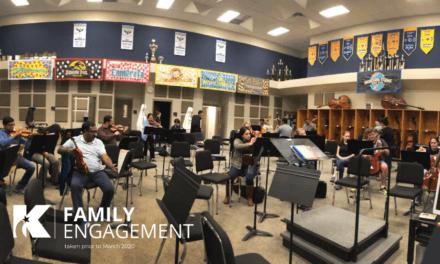 La orquesta de padres de Klein High recibe el título de 'Mejor práctica' para la participación de las familias en todo el estado
