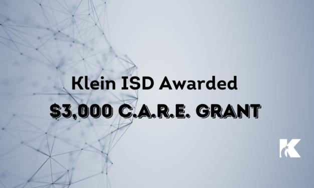 Klein ISD Social Studies Department Awarded $3,000 C.A.R.E. Grant