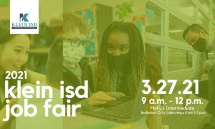 Join us for the Klein ISD Job Fair Saturday, March 27
