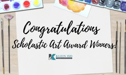 70 premios de arte académico obtenidos por estudiantes de Klein ISD