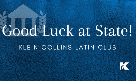Klein Collins Latin Club Advances to State Tournament for 4th Consecutive Year