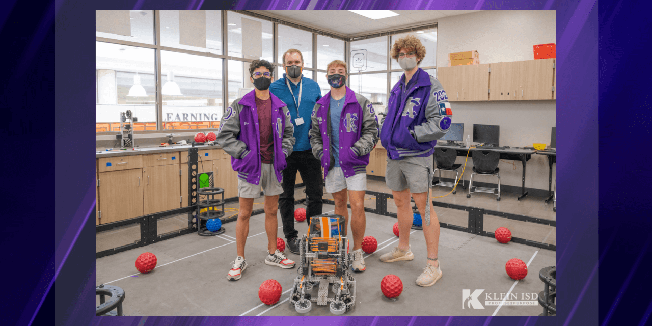 Klein Cain Robotics Team Takes First Place in State Competition