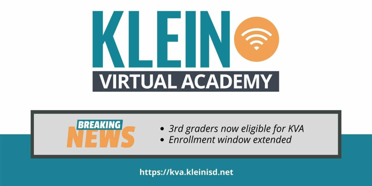 KVA Now Open to 3rd Graders, Enrollment Window Extended