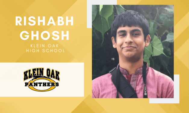 Rishabh Ghosh, Klein Oak Salutatorian – 2021 Senior Spotlight