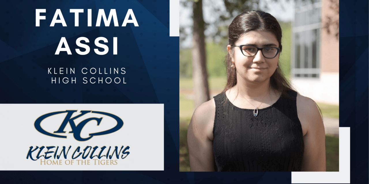 Fatima Assi, Klein Collins Salutatorian – 2021 Senior Spotlight