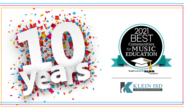 Klein ISD Named Best Community for Music Education for 10th Straight Year