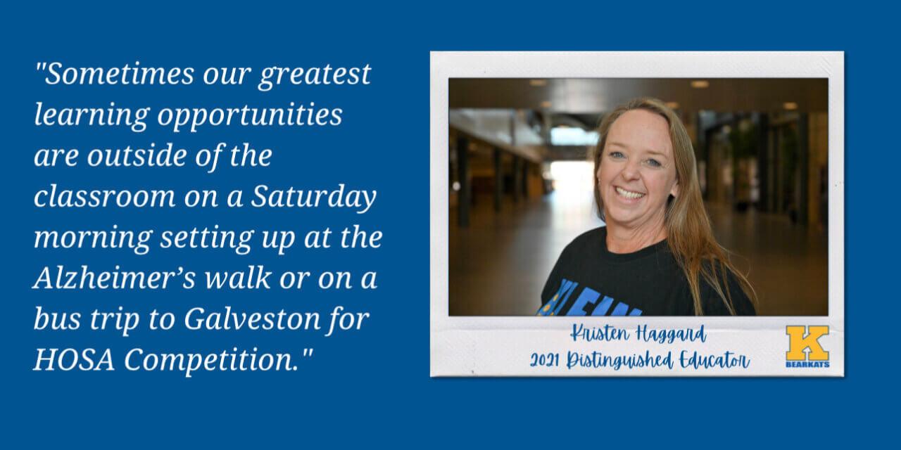 Klein ISD Teacher Recognized as 2021 U.S. Presidential Distinguished Educator