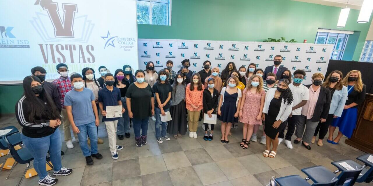 Klein ISD Launches Early College High School, Inaugural Class Inducted