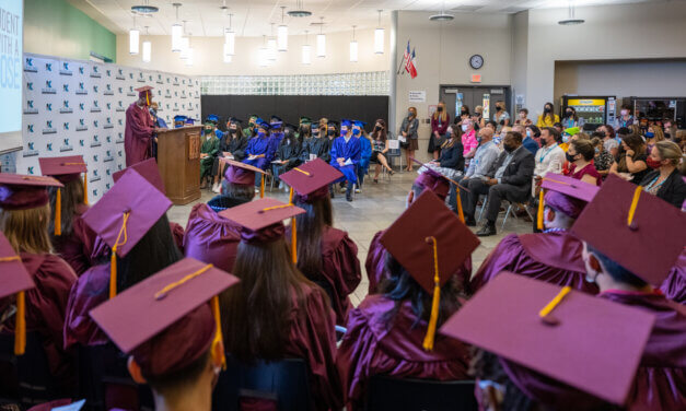 Vistas High School Program, Klein Success Academy Hold Clap Out Ceremonies