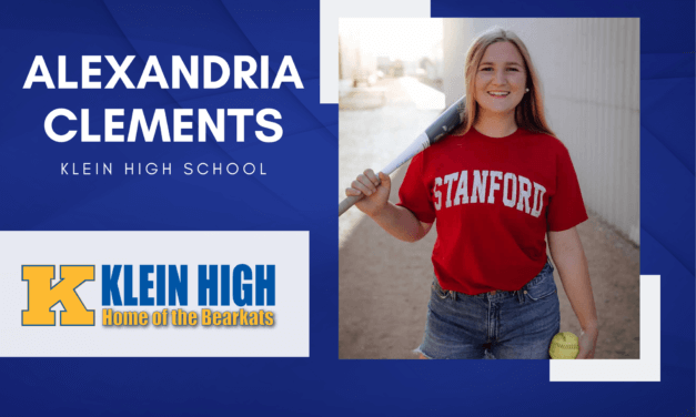 Alexandria Clements, Klein High Top 10 – Senior Spotlight