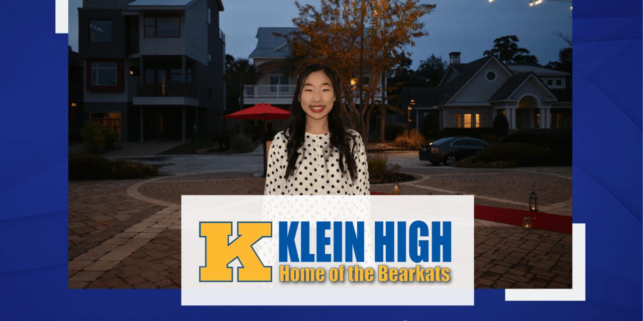 Anna Zhou, Klein High Top 10 – Senior Spotlight