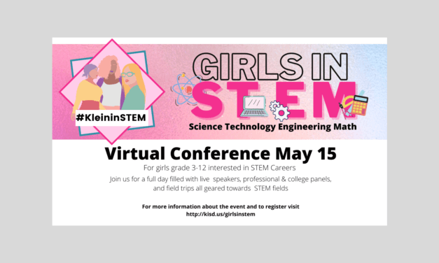 You're invited… Klein ISD Girls In STEM Virtual Conference
