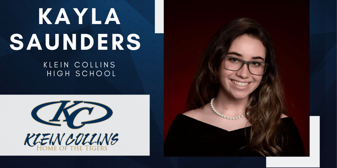 Kayla Saunders, Klein Collins High Top 10 – Senior Spotlight