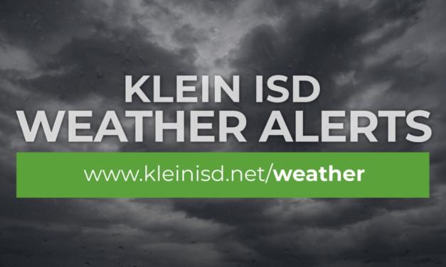 Update #2 – Klein ISD is OPEN