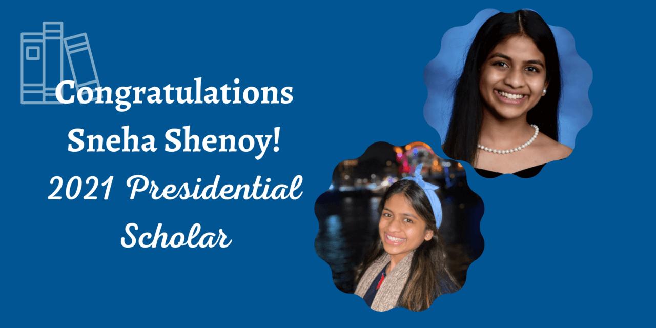 Klein ISD Senior Recognized as 2021 U.S. Presidential Scholar