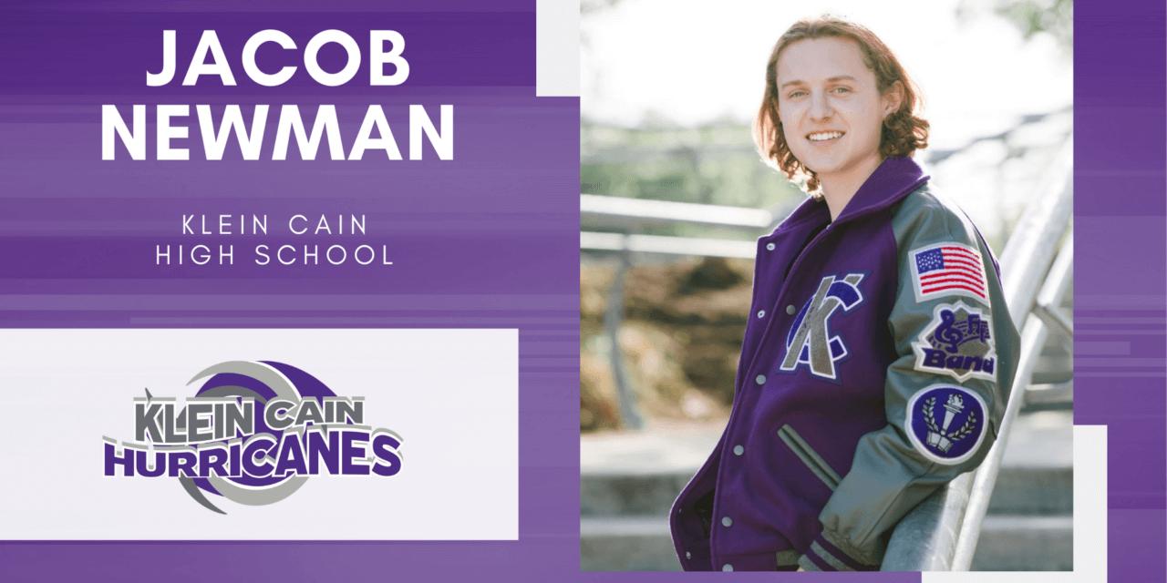 Jacob Newman, Klein Cain High Top 10 – Senior Spotlight