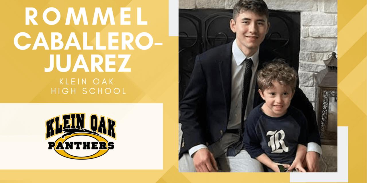 Rommel Caballero-Juarez, Klein Oak High Top 10 – Senior Spotlight