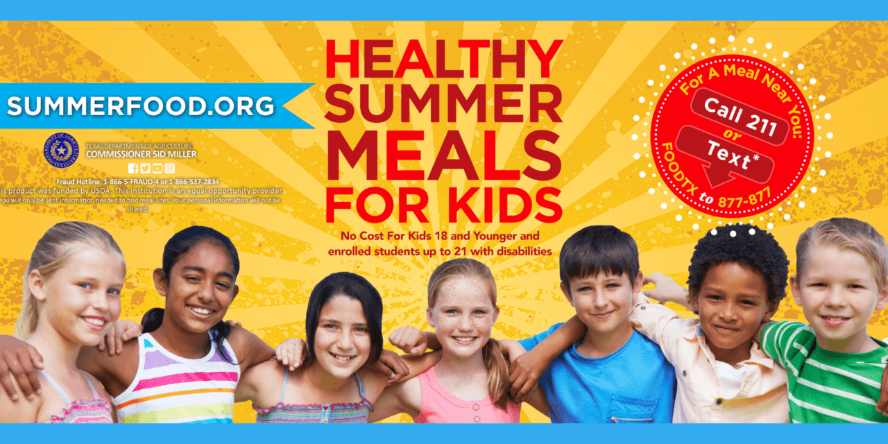 Klein ISD Begins Summer Meal Program June 1