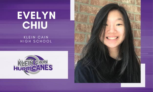 Evelyn Chiu, Klein Cain High Top 10 - Destacado senior