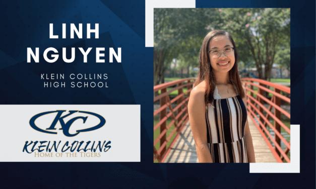 Linh Nguyen, Klein Collins High Top 10 - Destacado senior