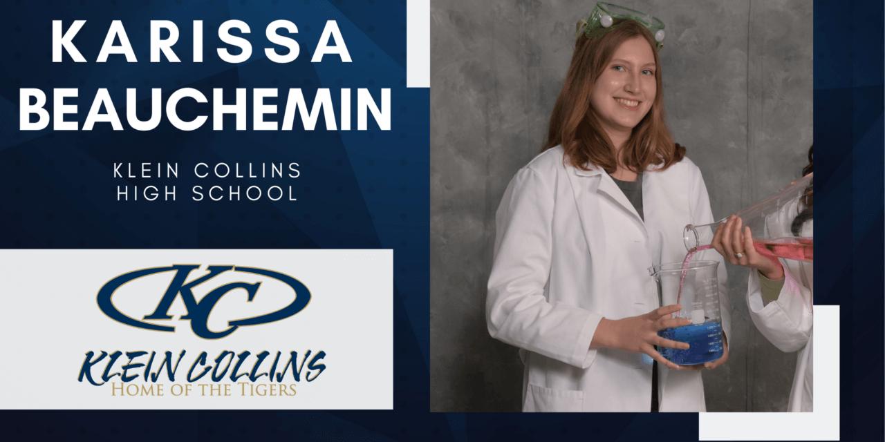 Karissa Beauchemin, Klein Collins High Top 10 – Senior Spotlight