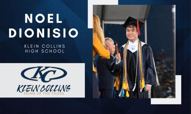 Noel Dionisio, Klein Collins High Top 10 – Senior Spotlight