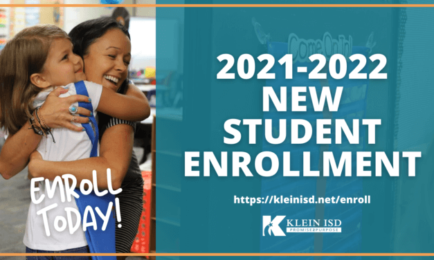New Student Enrollment for 2021-2022 is Open