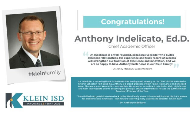 Dr. Anthony Indelicato Announced as Chief Academic Officer