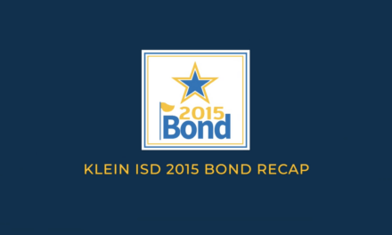 Klein ISD 2015 Bond Projects – Completion Report