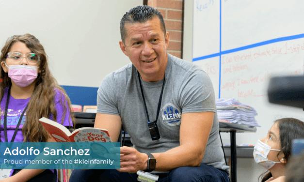 Teachers of Klein: Adolfo Sanchez, Klenk Elementary