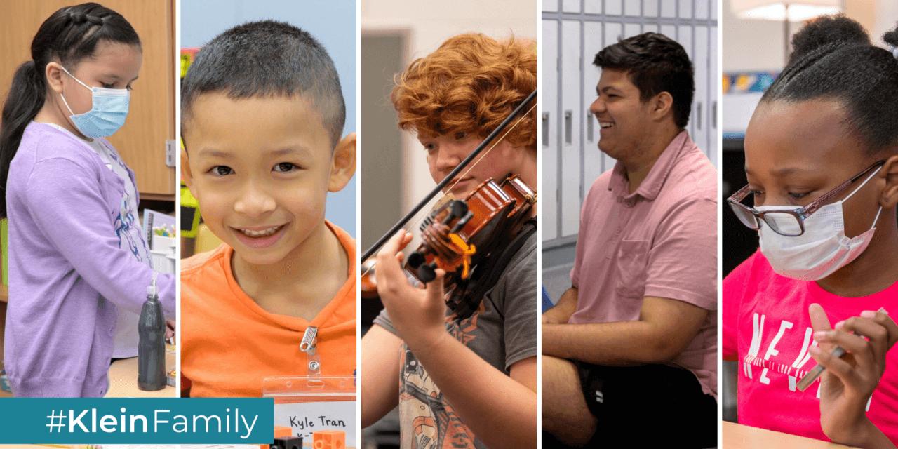 Kids in Klein – Week of 8/30