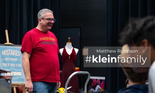 Teacher Feature: Matthew Robinson, Klein Cain High School