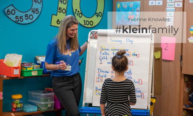 Teacher Feature: Yvonne Knowles, Benignus Elementary