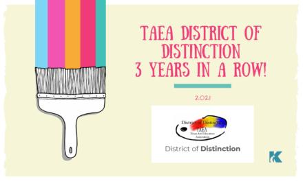 Klein ISD Được vinh danh là Khu phân biệt TAEA năm 2021