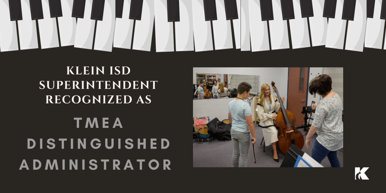 Superintendent Dr. McGown Recognized as TMEA Distinguished Administrator