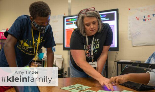 Teacher Feature: Amy Tinder, Doerre Intermediate
