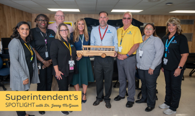 Superintendent's Spotlight: Bus Drivers Safely Transporting Our Most Precious Cargo!
