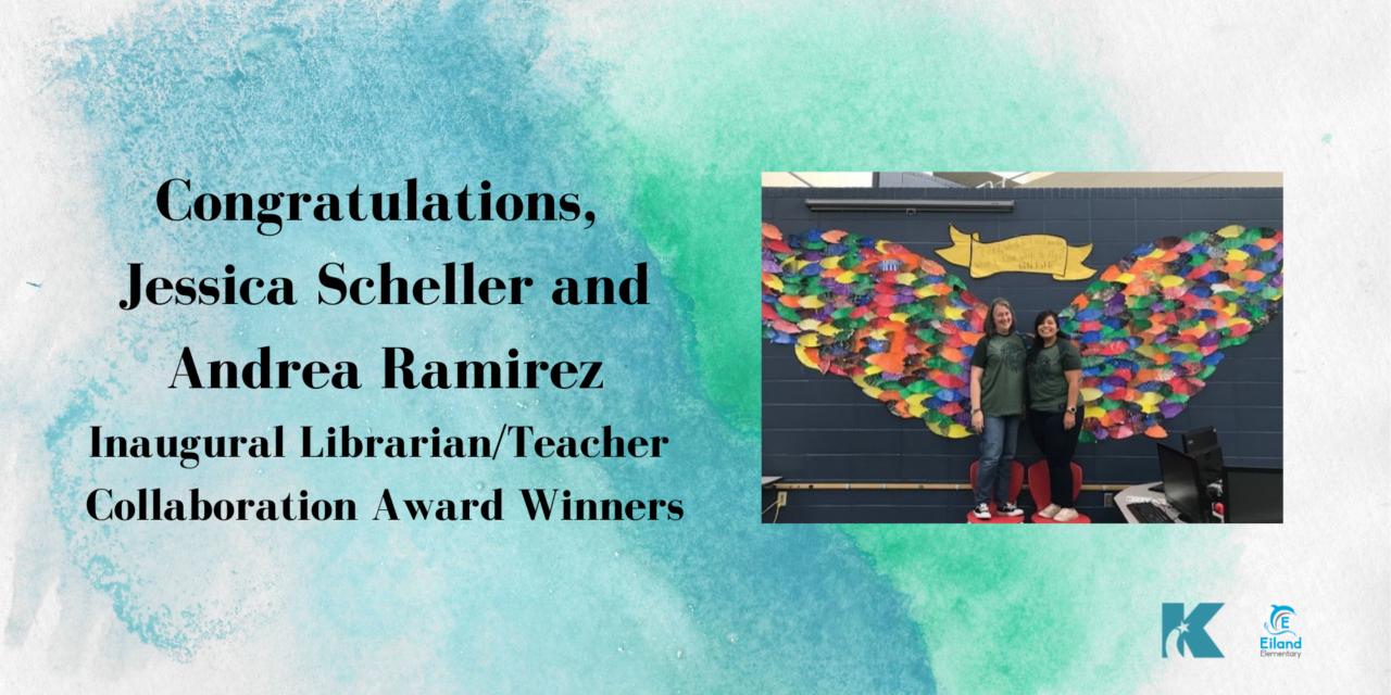 Two Eiland Elementary Educators Win Inaugural Collaboration Award