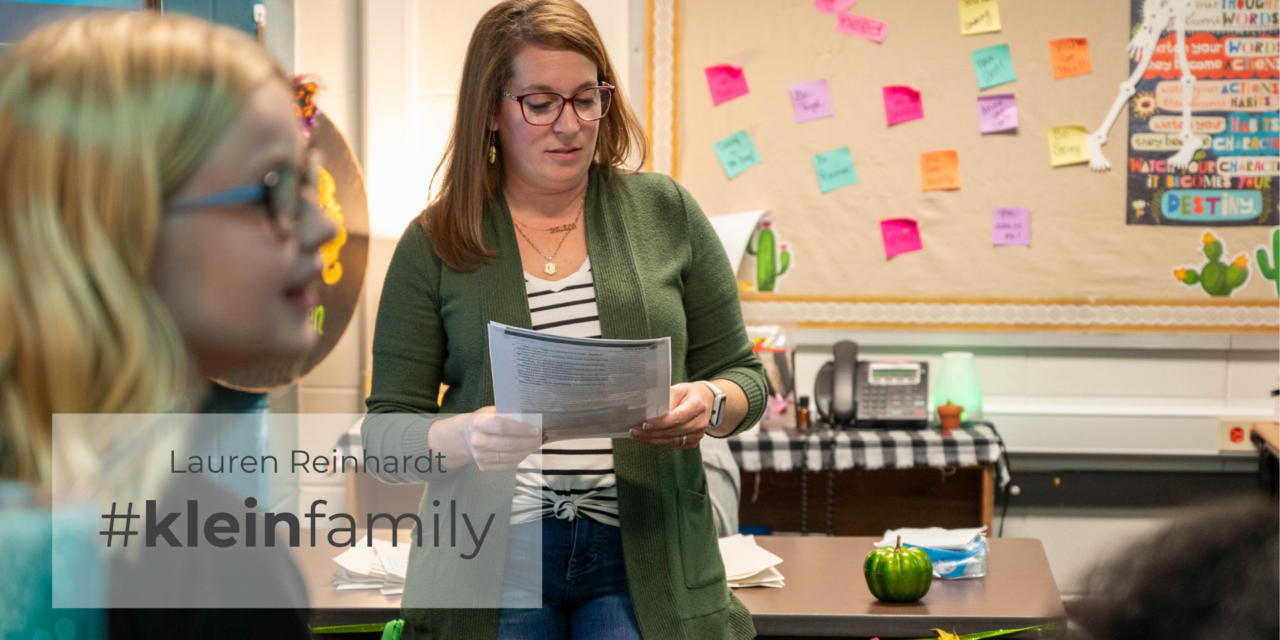 Teacher Feature: Lauren Reinhardt, Hildebrandt Intermediate